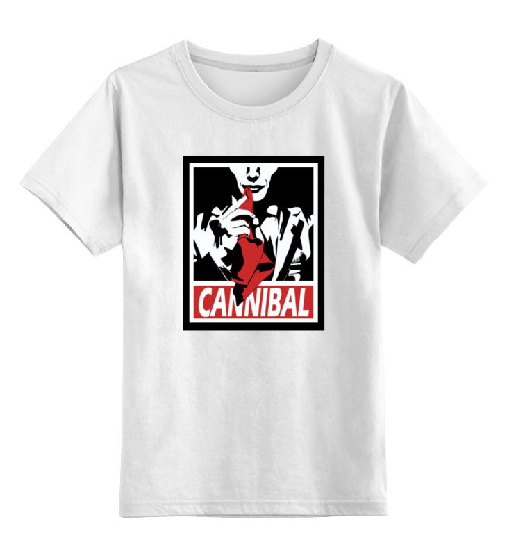 Детская футболка классическая унисекс Printio Каннибал sbart upf50 rashguard 2 bodyboard 1006