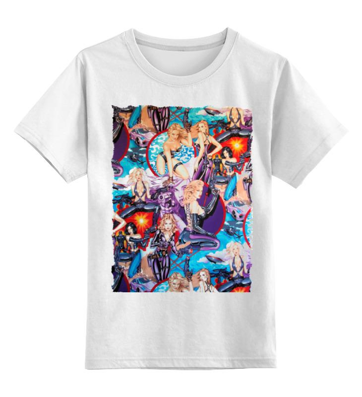 Детская футболка классическая унисекс Printio New gunner girls