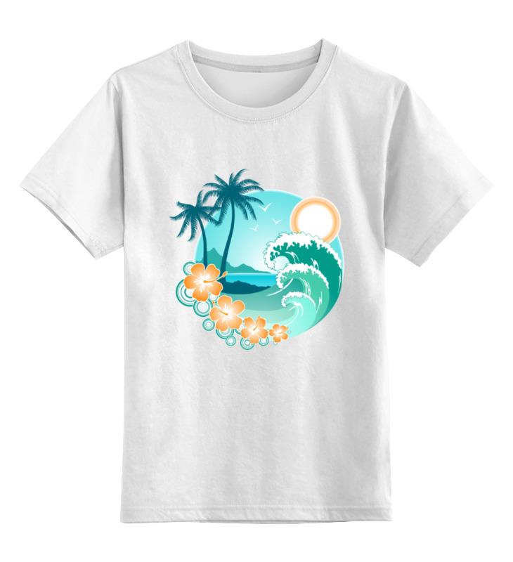 Детская футболка классическая унисекс Printio Ямайка цена