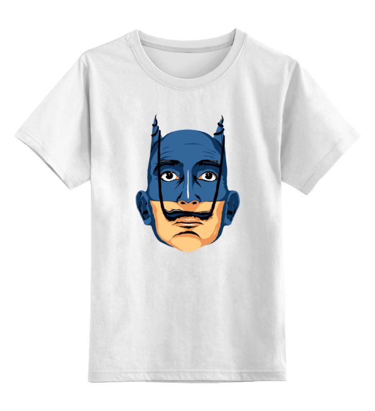 Детская футболка классическая унисекс Printio Дали бэтмен дали сальвадор дневник одного гения