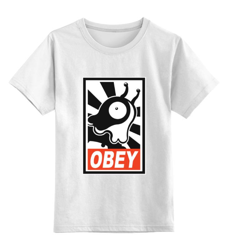 Детская футболка классическая унисекс Printio Brain slug (футурама) детская футболка классическая унисекс printio футурама