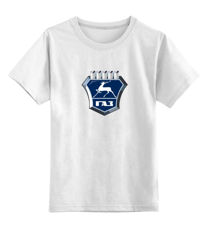 Детская футболка классическая унисекс Printio Газ нижний новгород