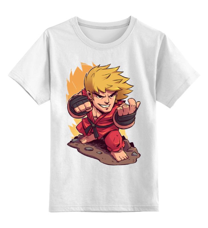 Детская футболка классическая унисекс Printio Стрит файтер эйч пи файтер в москве