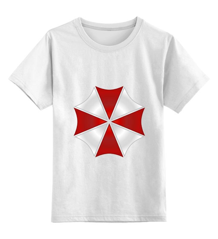 Детская футболка классическая унисекс Printio Umbrella corporation футболка классическая printio игровая приставка денди
