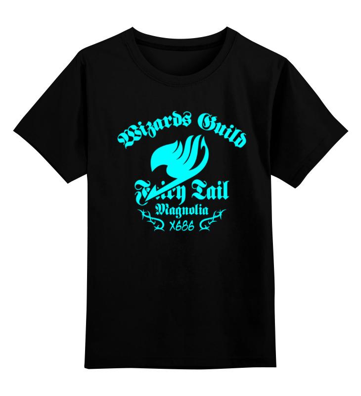 Детская футболка классическая унисекс Printio Fairy tail ( хвост феи )