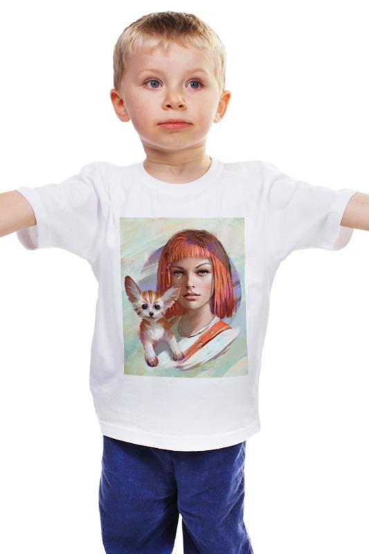Детская футболка классическая унисекс Printio Милла йовович / milla jovovich milla g15090824705