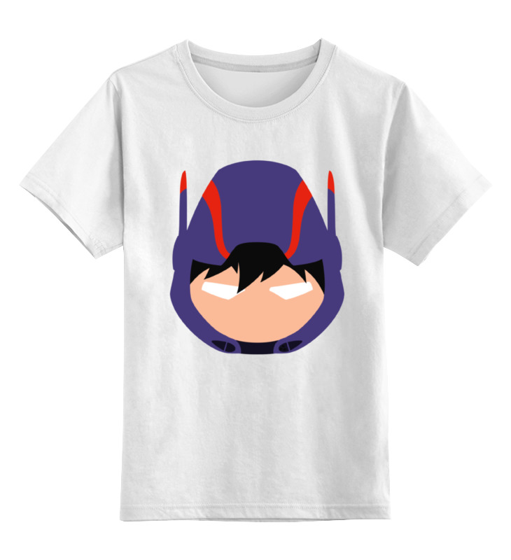 Детская футболка классическая унисекс Printio Хиро хамада (город героев)