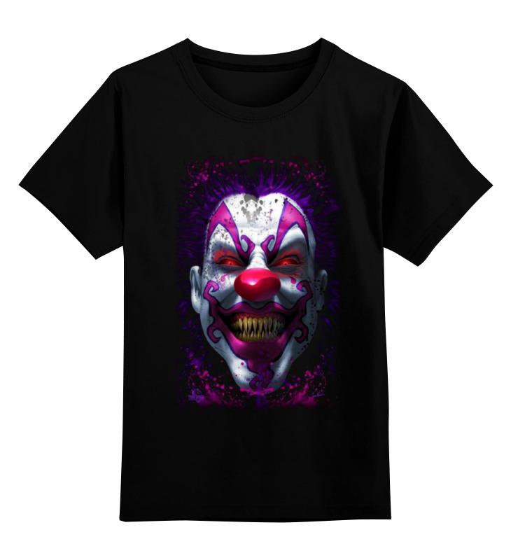 Детская футболка классическая унисекс Printio Evil clown детская футболка классическая унисекс printio мачете