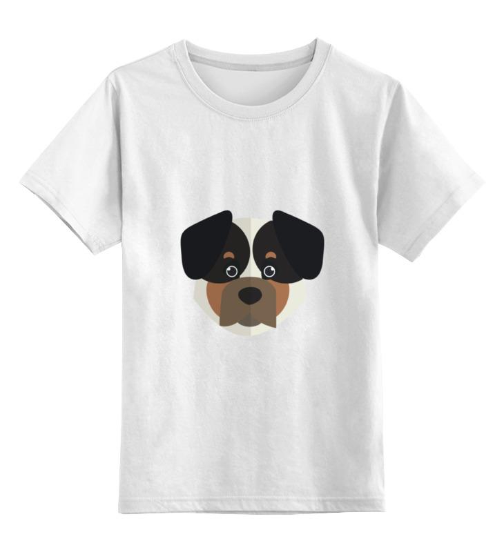 Детская футболка классическая унисекс Printio Собака