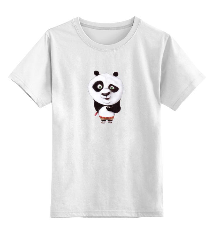 Детская футболка классическая унисекс Printio Панда детская футболка классическая унисекс printio панда боксер