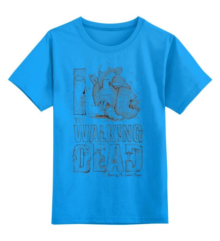 Детская футболка классическая унисекс Printio Я люблю ходячих мертвецов футболка атака мертвецов