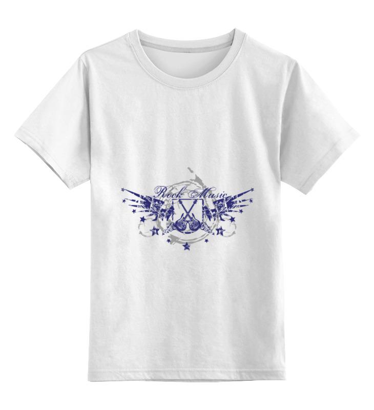 Детская футболка классическая унисекс Printio Rock musik майка классическая printio rock musik