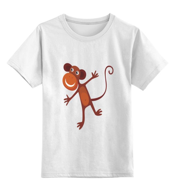 Printio Веселая обезьяна детская футболка классическая унисекс printio обезьяна менеджер