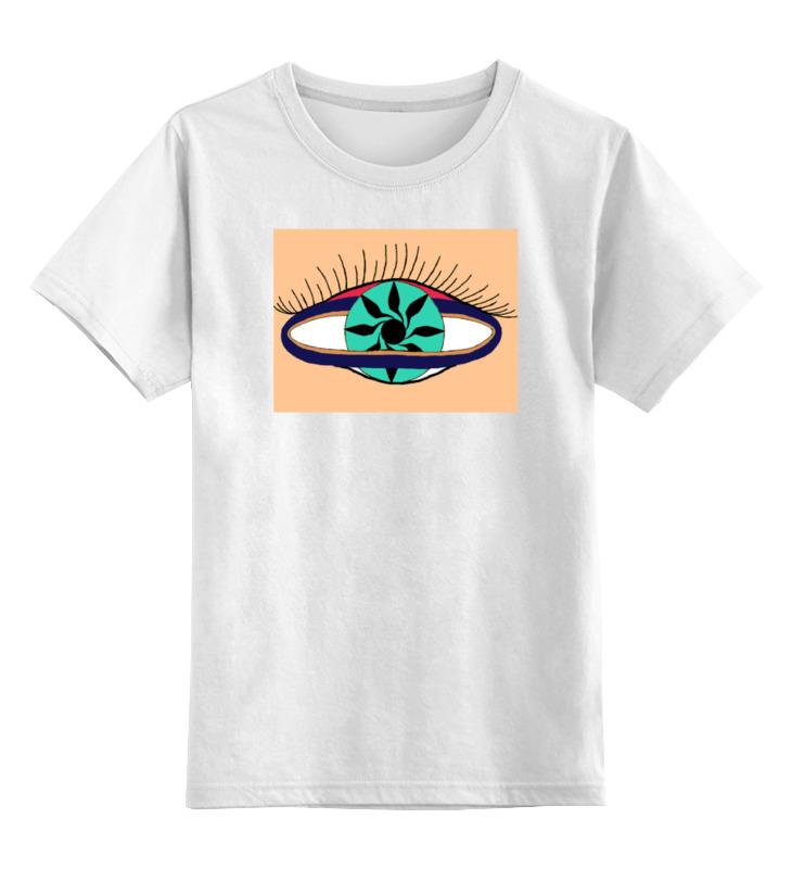 Детская футболка классическая унисекс Printio Третий глаз женщины