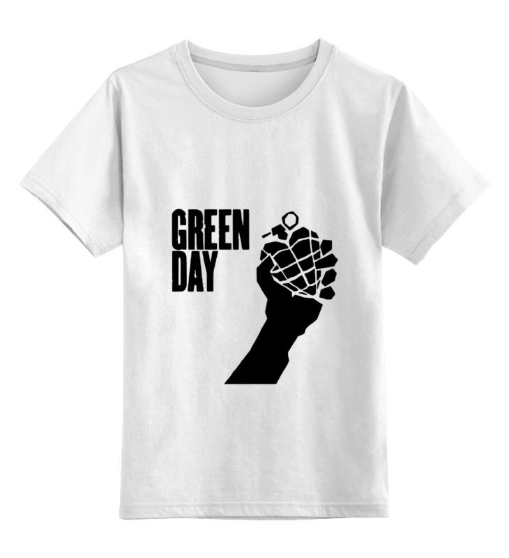 Детская футболка классическая унисекс Printio Green day толстовка классическая детская dc cappell boy vintage green