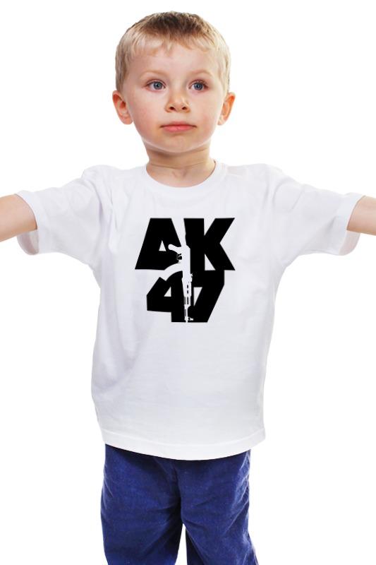 Детская футболка классическая унисекс Printio Автомат калашникова автомат калашникова пневматический в москве