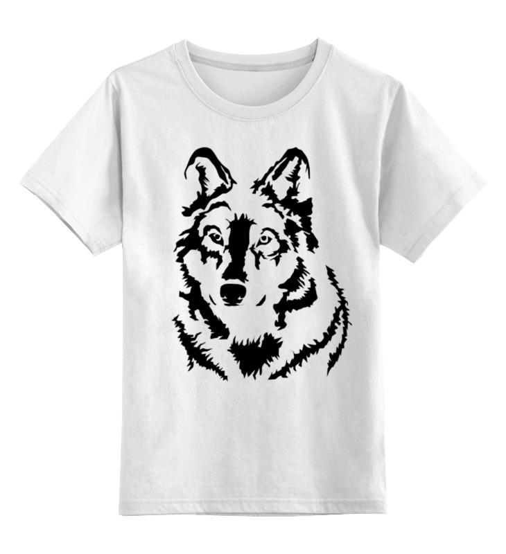 Детская футболка классическая унисекс Printio Тату волк слюнявчик printio тату волк