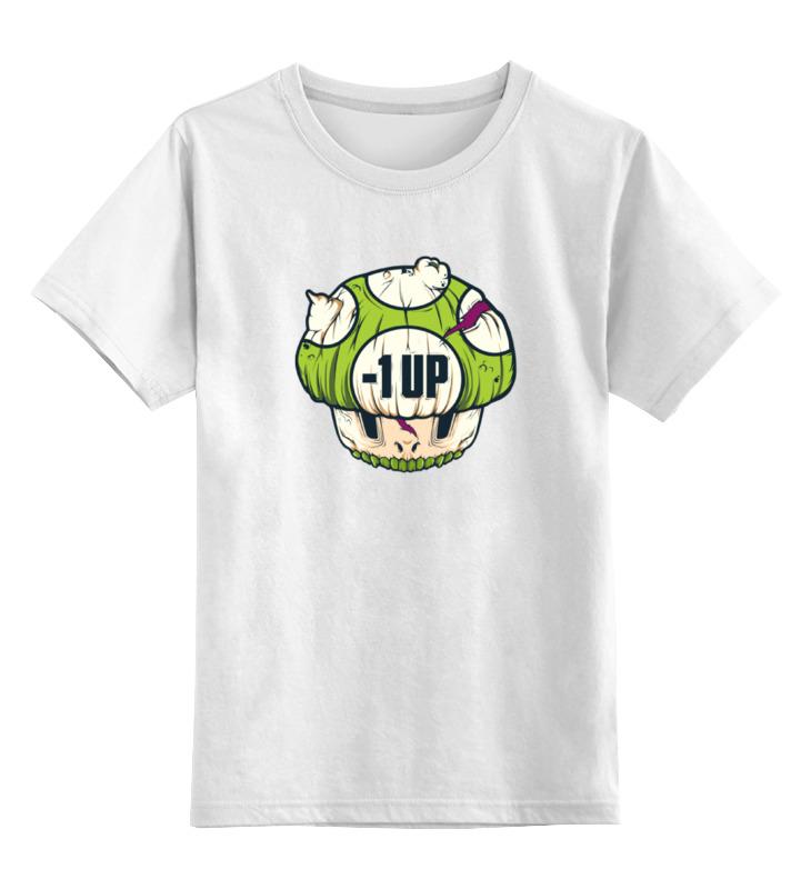 Детская футболка классическая унисекс Printio Гриб из марио (зомби) толстовка wearcraft premium унисекс printio гриб из марио зомби