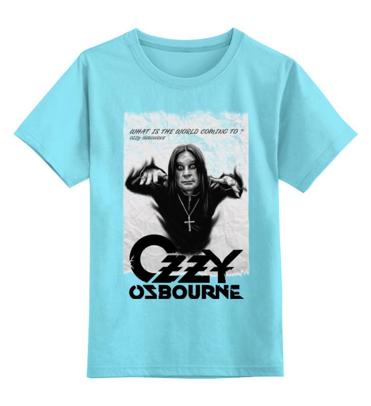 Детская футболка классическая унисекс Printio Ozzy osbourne детская футболка классическая унисекс printio ozzy osbourne