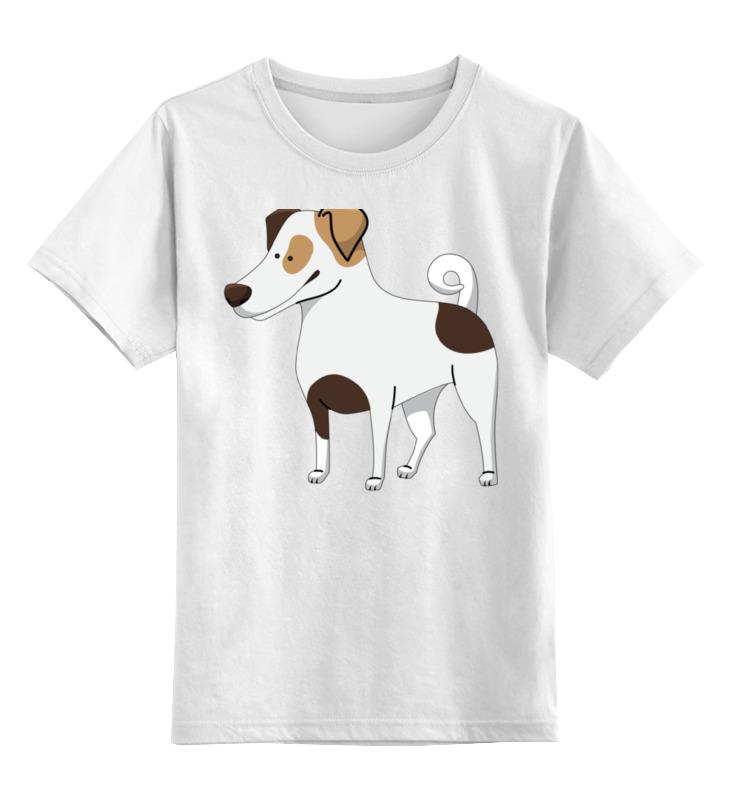 Детская футболка классическая унисекс Printio Джек рассел.собака джек восьмеркин американец 2 dvd