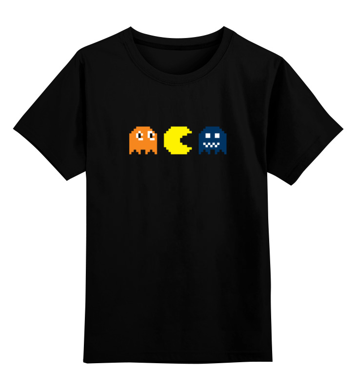 Детская футболка классическая унисекс Printio Пакман детская футболка классическая унисекс printio 2 pac