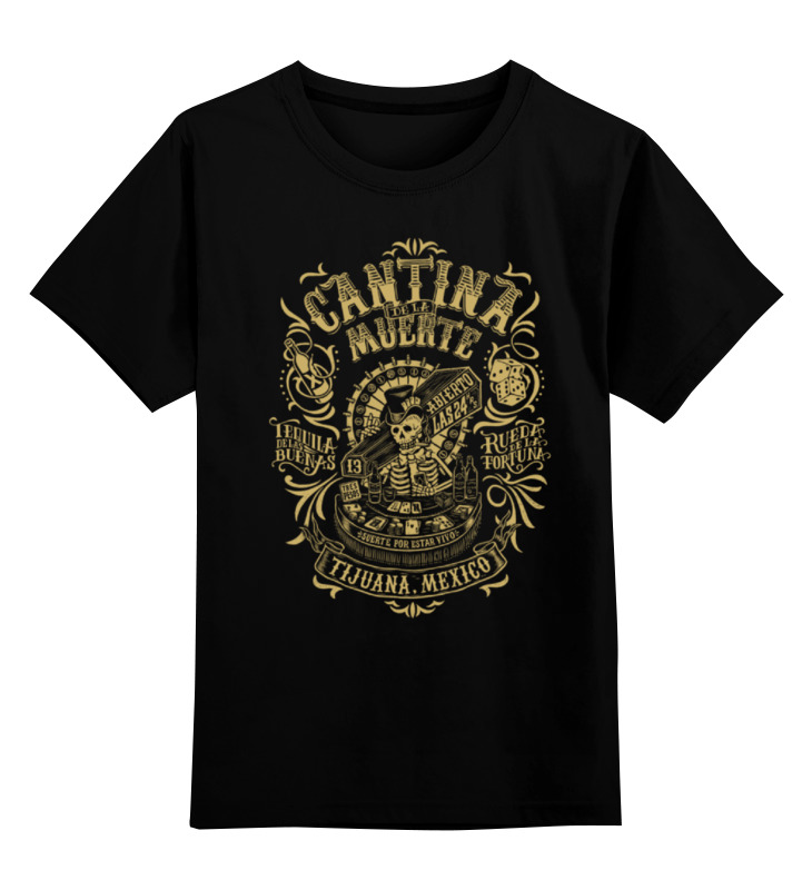 Детская футболка классическая унисекс Printio Mexico timbiriche mexico