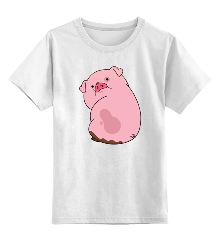 Детская футболка классическая унисекс Printio Пухля (гравити фолз) покрывало детское непоседа непоседа покрывало gravity falls гравити фолз стеганое мейбл и пухля