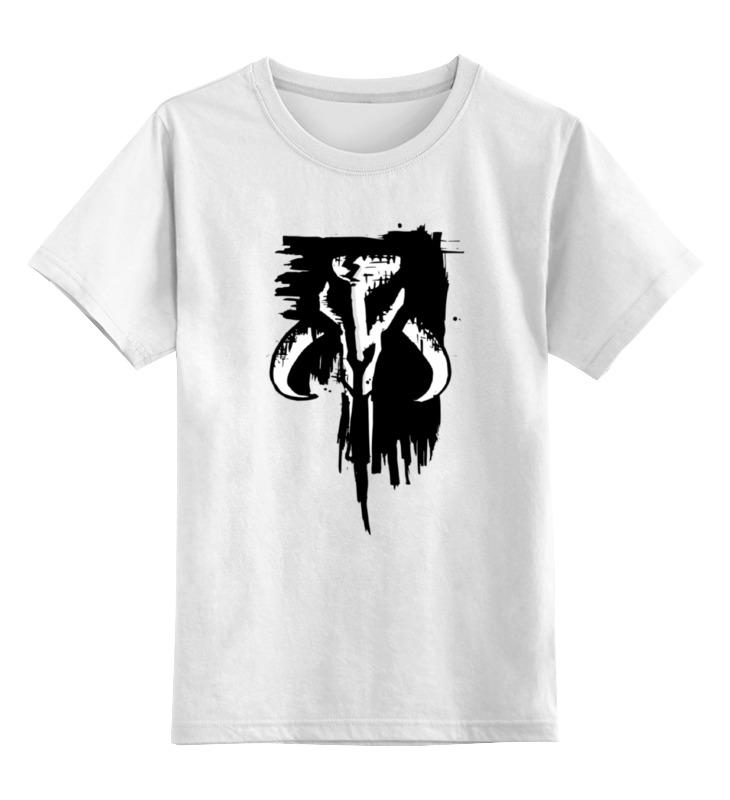 Детская футболка классическая унисекс Printio Mythosaur лонгслив printio the skull of a hero