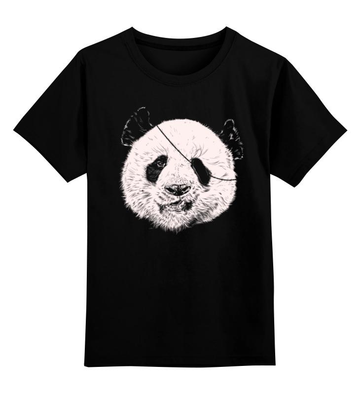 Детская футболка классическая унисекс Printio Панда пират детская футболка классическая унисекс printio панда пират