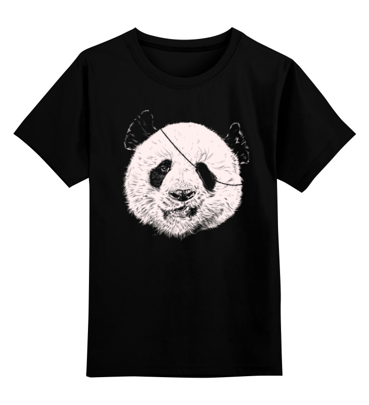 Детская футболка классическая унисекс Printio Панда пират детская футболка классическая унисекс printio король панда