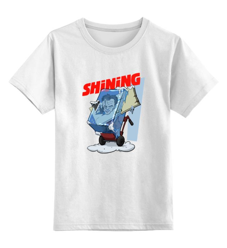 Детская футболка классическая унисекс Printio Сияние (the shining) цена и фото