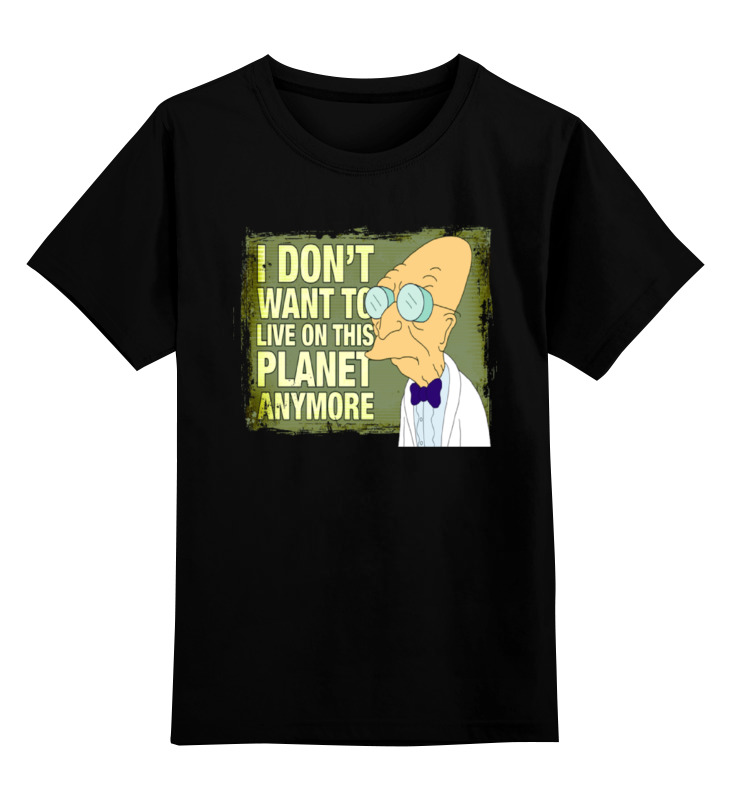 Детская футболка классическая унисекс Printio Футурама детская футболка классическая унисекс printio футурама