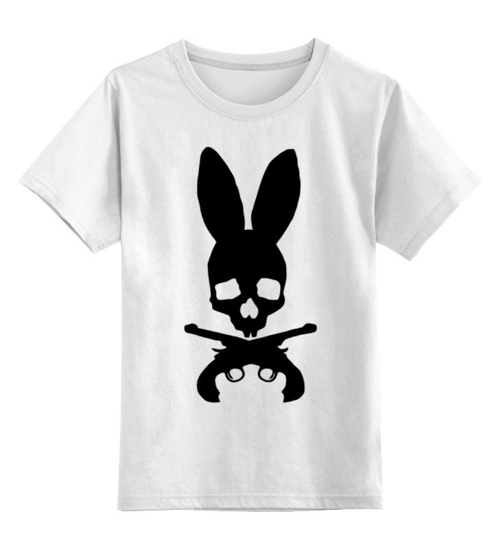 Детская футболка классическая унисекс Printio Череп зайца детская футболка классическая унисекс printio рога
