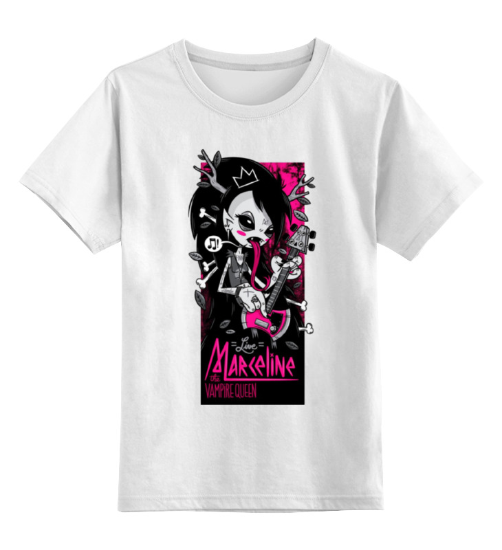 Детская футболка классическая унисекс Printio Vampire rocker girl vampire mountain