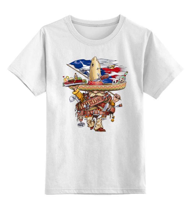 Детская футболка классическая унисекс Printio Bandito футболка для беременных printio bandito