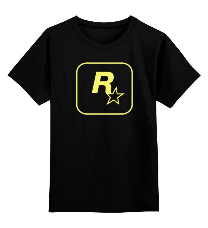 Детская футболка классическая унисекс Printio Rockstar staff t-shirt футболка классическая printio dota2 t shirt