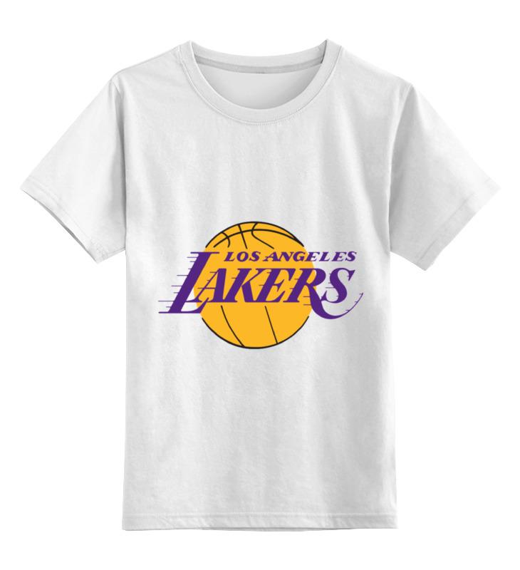 Детская футболка классическая унисекс Printio Lakers баскетбольную форму lakers