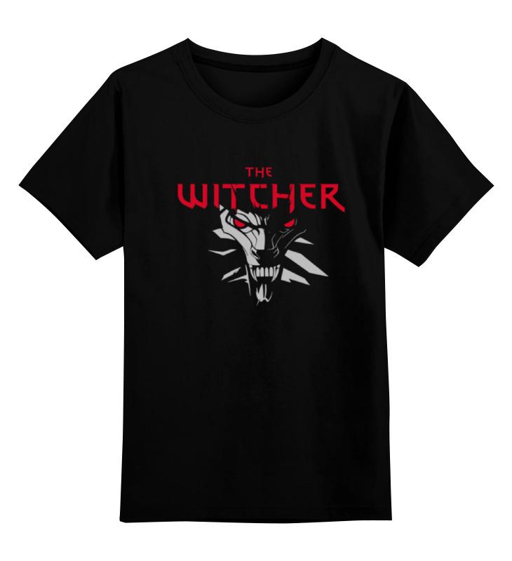 где купить Детская футболка классическая унисекс Printio The witcher 3 по лучшей цене