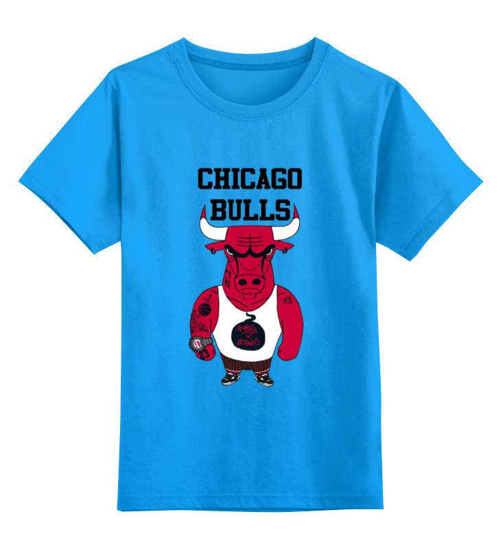 Детская футболка классическая унисекс Printio Chicago bulls футболка print bar chicago blackhawks