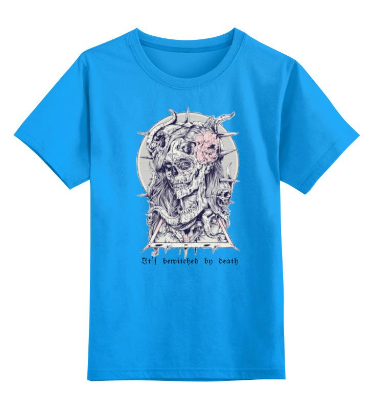 Детская футболка классическая унисекс Printio Околдована смертью (it's bewitched by death) дашко д джига со смертью