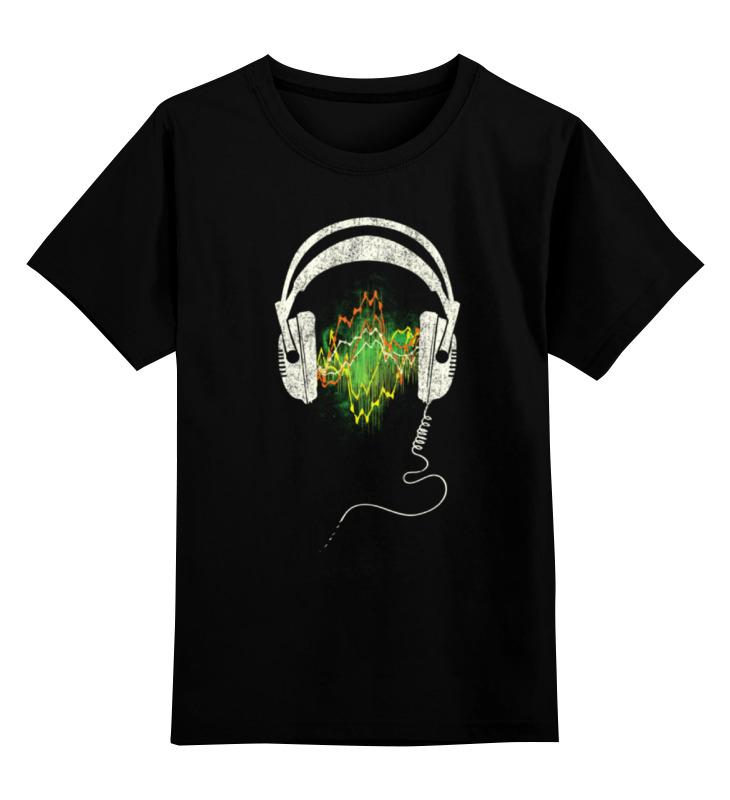 Детская футболка классическая унисекс Printio Наушники чехол для сотового телефона honor 5x smart cover grey
