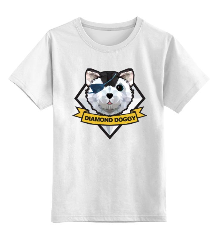 Детская футболка классическая унисекс Printio Diamond dogs (metal gear solid) футболка стрэйч printio diamond dogs metal gear solid