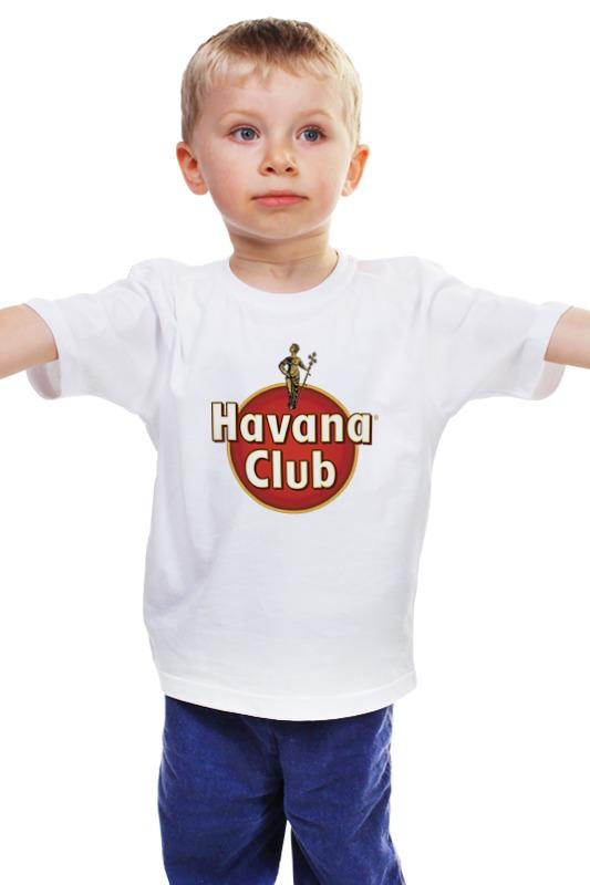 Детская футболка классическая унисекс Printio Havana club havana club anejo reserva