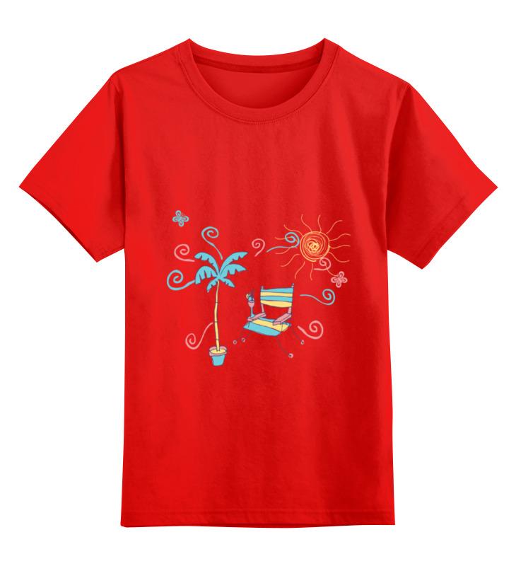 Детская футболка классическая унисекс Printio Лето! детская футболка классическая унисекс printio лето