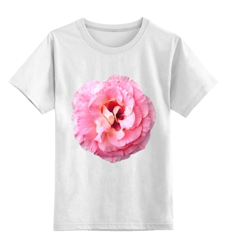 Фото - Детская футболка классическая унисекс Printio Розовый бутон майка классическая printio розовый бутон
