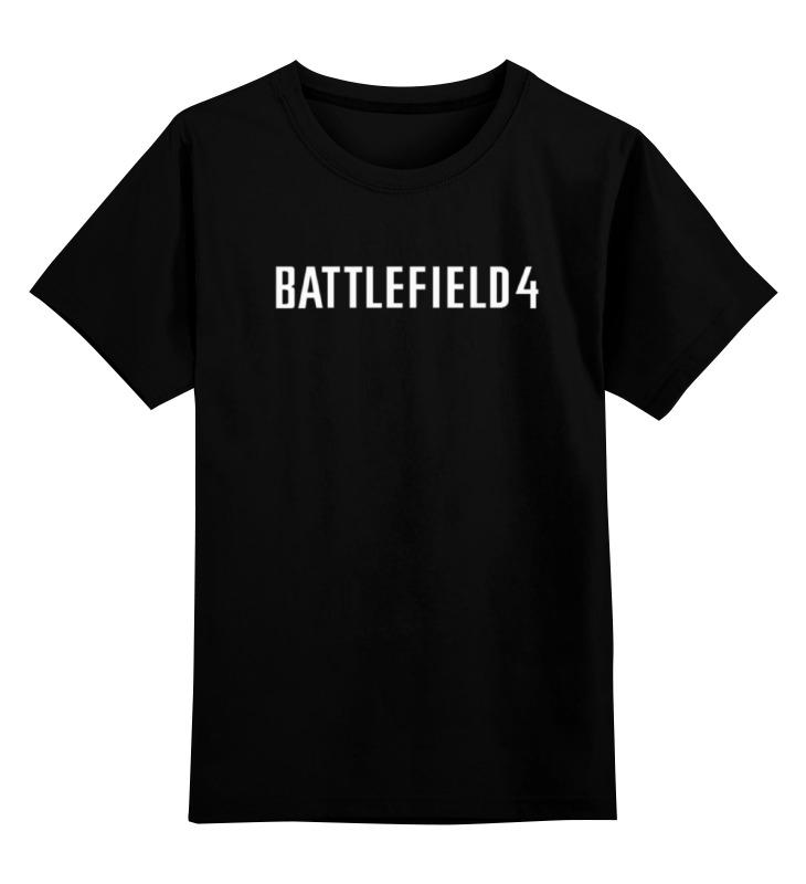 Детская футболка классическая унисекс Printio Battlefield 4 детский дартс battlefield soft 7 2cm