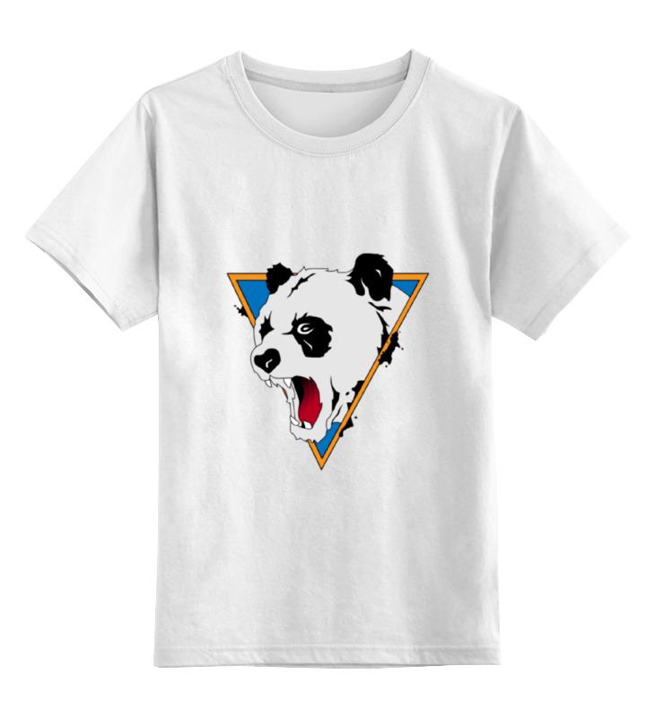 Детская футболка классическая унисекс Printio Злая панда детская футболка классическая унисекс printio король панда
