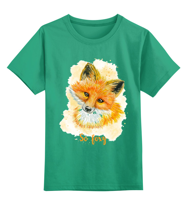 Детская футболка классическая унисекс Printio Лисичка толстовка wearcraft premium унисекс printio moscow