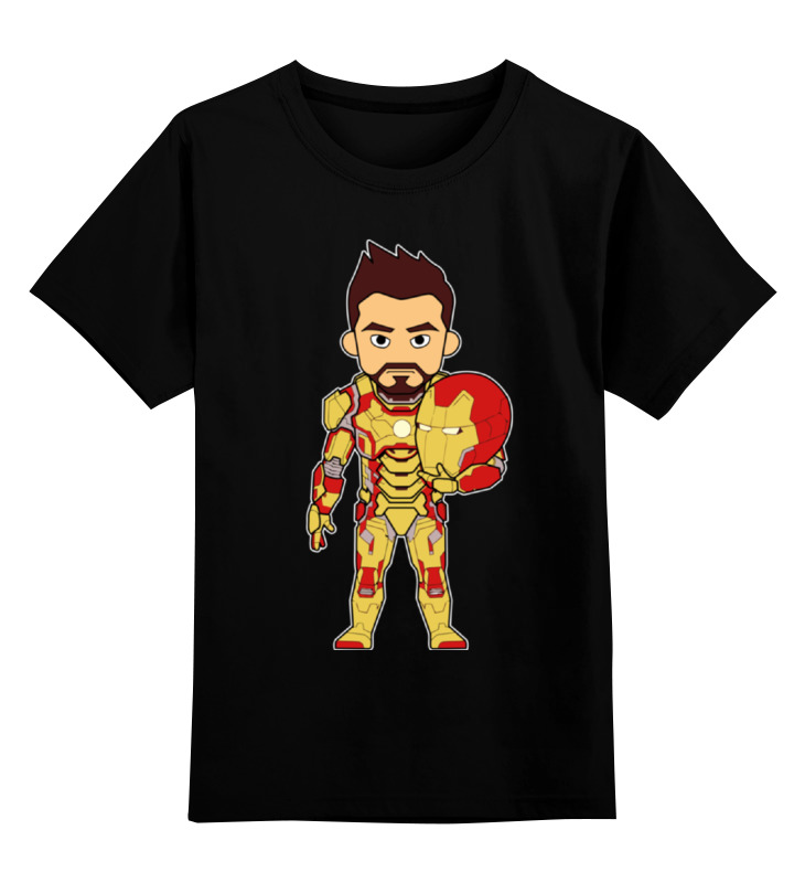 Детская футболка классическая унисекс Printio Железный человек (iron man) детская футболка классическая унисекс printio ant man 3d