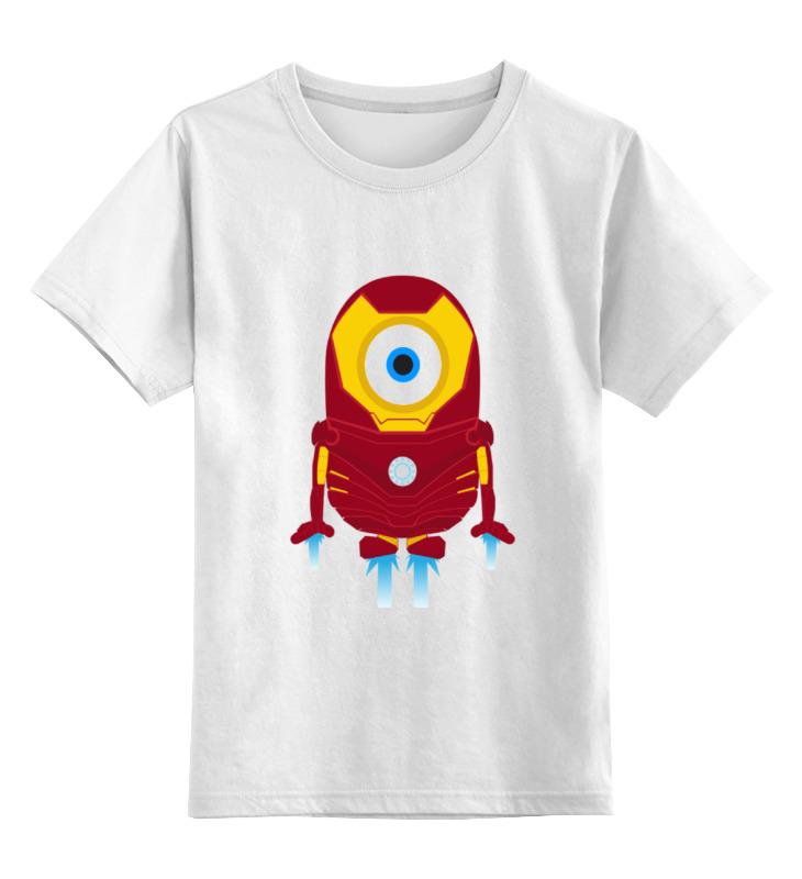 Детская футболка классическая унисекс Printio Iron minion детская футболка классическая унисекс printio minion dracula
